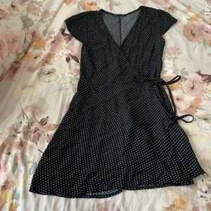 Brandy Melville Polka Dot Wrap Dress
